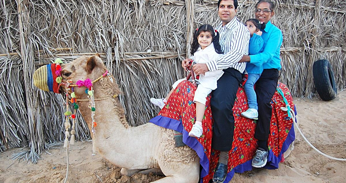 Camel Riding tour in Dubai