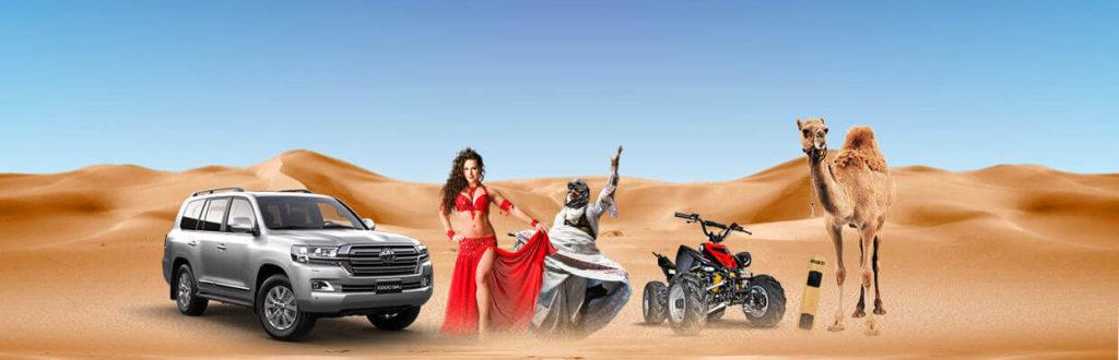 How much does it cost per person for desert safari in Dubai