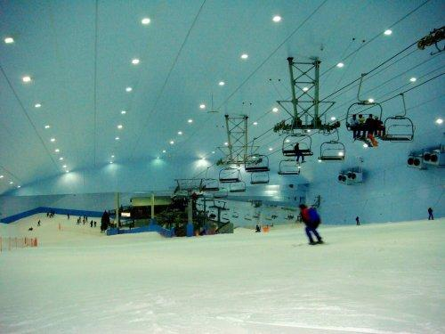 Ski Dubai ride