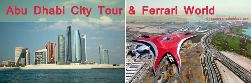 Combo Tour = Abu Dhabi City Tour and Ferrari World