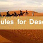 New Rules for Desert Safari in Dubai, UAE