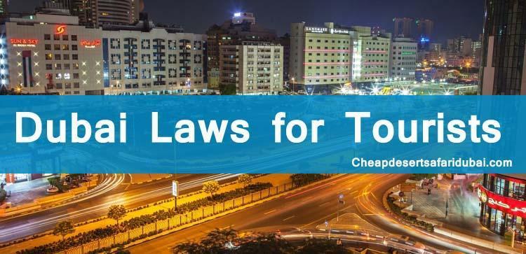 Dubai Important laws for tourists