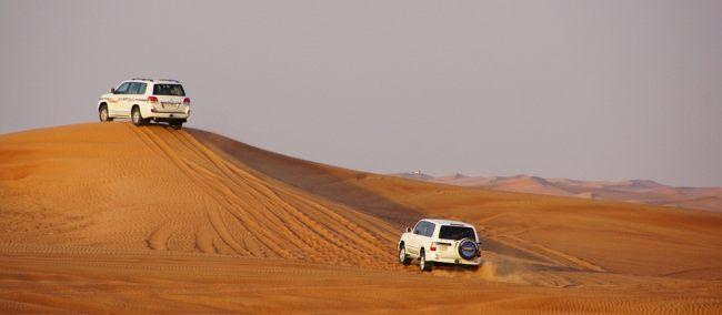 Age limit for desert safari ride