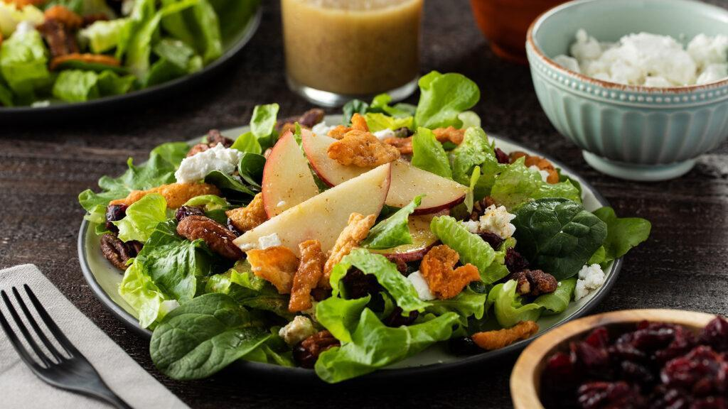 Harvest Salad with Sweet-Dijon Vinaigrette